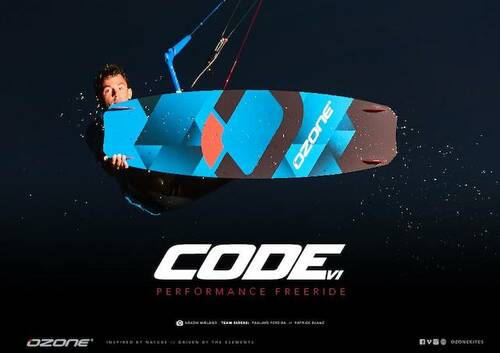 CODE V1 PERFORMANCE FREERIDE - Online-Shop für Ozone-Kites, Core-Kites und Carved-Boards